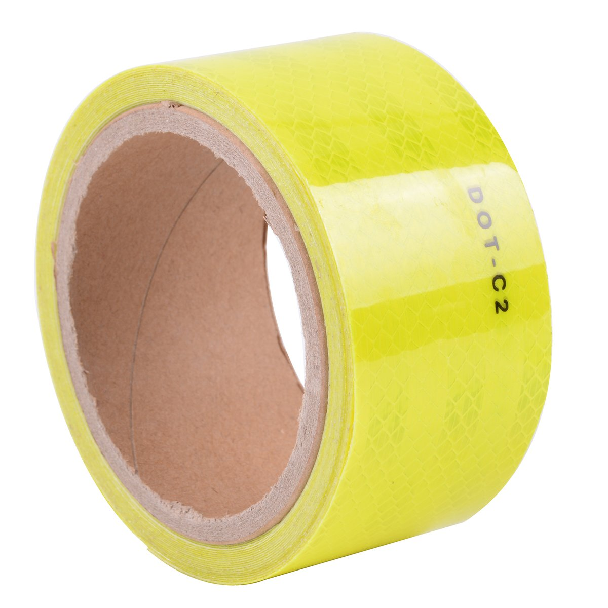 Diamond Grade Conspicuity Reflective Safety Tape DOT-C2 (Fluorescent Yellow)
