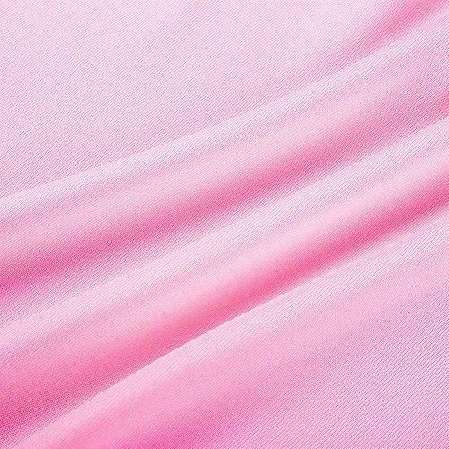Vêtements Shirt Grossesse Enceinte Blouse Wrap Double Couche Walaka De Manches Rose T Tops Cap Top Femmes Allaitement Maternité Courtes fX4qrTf