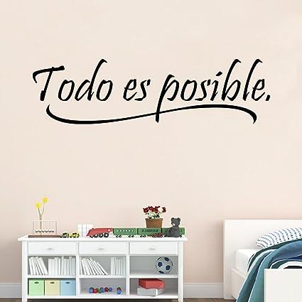 Amazon Com Bibitime Inspirational Wall Quotes Word Vinyl