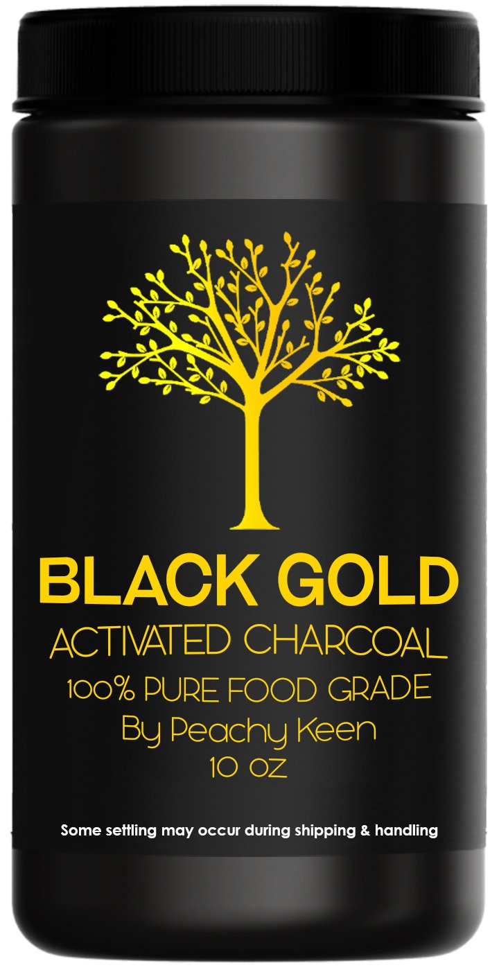 Activated Charcoal Powder, LARGE JAR, FOOD GRADE. For detoxification, teeth whitening, beauty mask, poison adsorption, avoids digestive issues, helps with hangover,