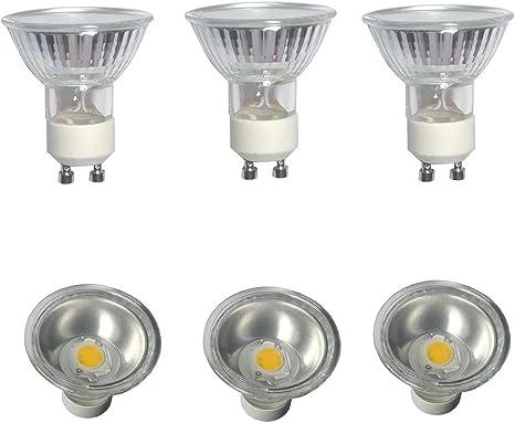 4x 35W GU10 Clear Halogen Dimmable Reflector Spotlight Bulbs Downlight Lamp