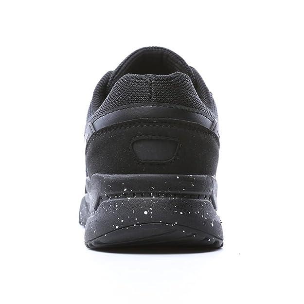 Talon Plat Lace Up Chaussures de Sport de Loisirs pour Les Femmes et Les Hommes,Chaussures de Cricket (Color : Black Purple, Size : 42EU)