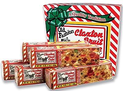 Claxton Fruitcake Five Pound Regular Recipe