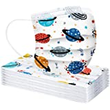 30pcs Children 3-Ply Cartoon Pattern Face-Másc for Kids, Outdoor Activities, Dust-Proof, Full Face Protection