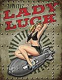 Legends - Lady Luck Tin Sign , 12x16