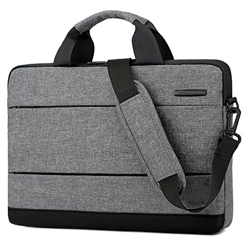 BRINCH Slim 15.6 Inch Laptop Bag,Classic Lightweight Portable Messenger Bag Sleeve Case Shoulder Bag for Work/Travel,Fits 15-15.6 Inches Laptop/Notebook/MacBook/Ultrabook (Fujitsu Travel Bag)
