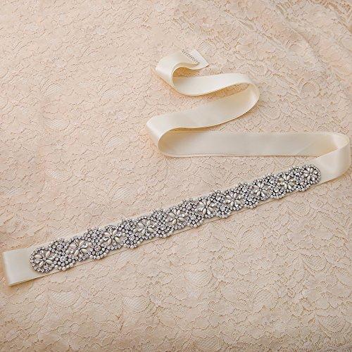 Perle Vestito Diamanti Sposa Da Ghigliottina Del Delle Sposa Cinghia Grigio Nastro S04a Donne Fusciacca Ulapan 5p4BqYwx