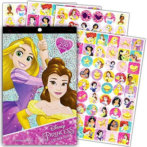Disney Princess Sticker Pad Over 200 ()