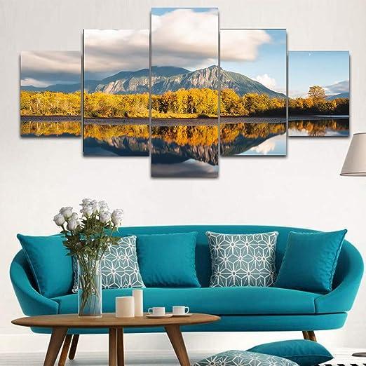 ZTTPCP Marco 100×55cm Impresiones de Alta definición Pintura ...