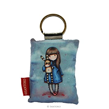 Gorjuss Hush Little Forma Rectangular, diseño con niña y ...