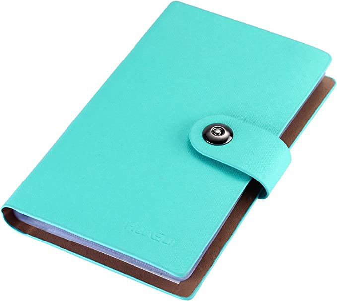 Details about  /Leather Business Cards Holder Case Organizer Book Name ID Credit Card Keeper CN