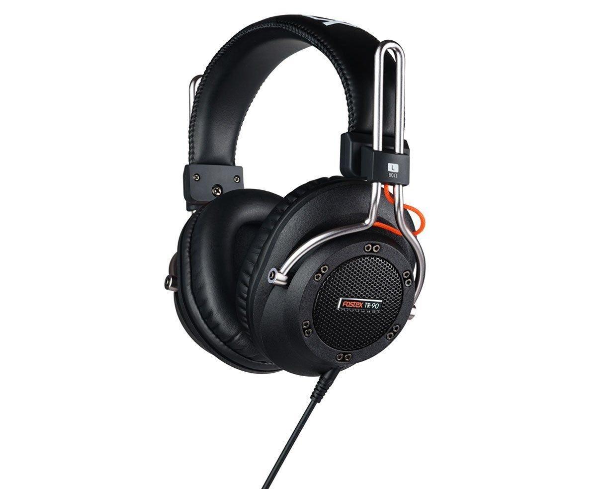 Fostex TR-90-80 Semi-Open Dynamic Stereo Headphones, 80 Ohms