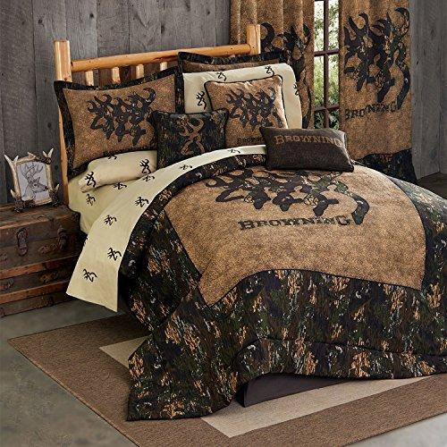 Kimlor Browning 3D Buckmark Comforter Set (Twin)