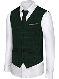 Men's Big Tall Suit Vests | Amazon.com