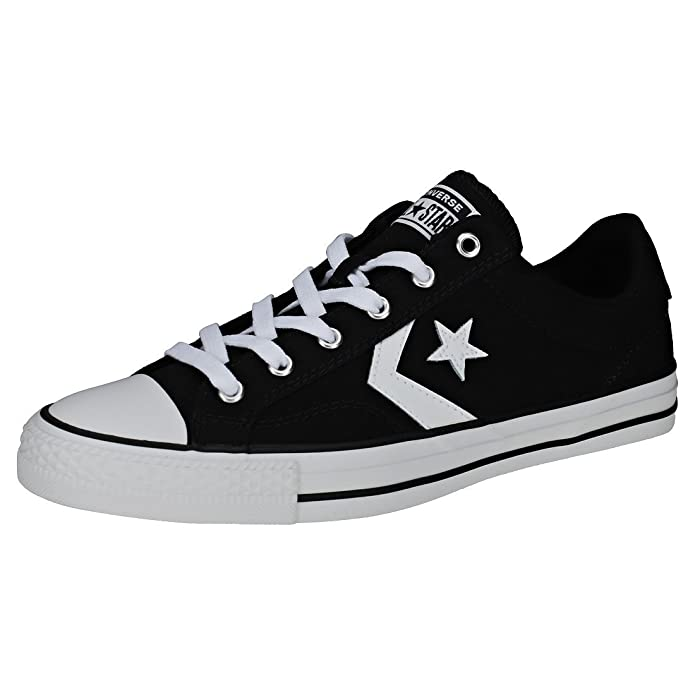 Converse Star Player Low Top Unisex Erwachsene Schwarz