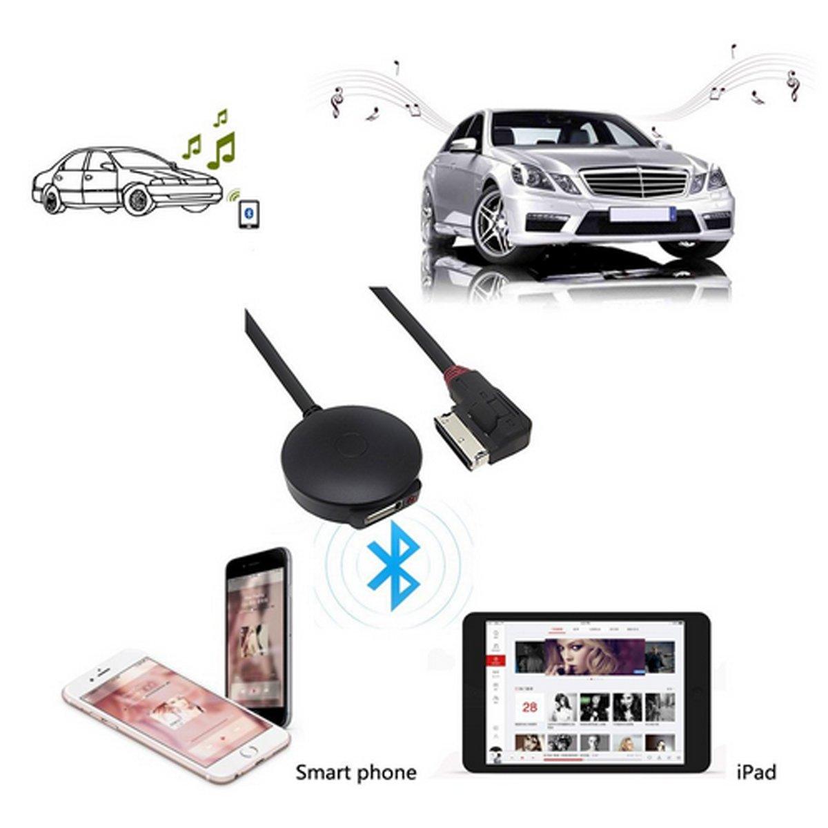 chelink USB Adaptador de m/úsica Bluetooth 4.0/para AMI MDI MMI 3/G Cable de Audio para Bentley Audi A4/A5/A6/A8/Q5/Q7/S4/S5/Serie