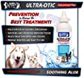 LIVELY PETS Ultra-Otic Advanced Plus Best Dog Ear Infection Treatment & Dog Ear Drops; Antifungal Dog ear Wash for Yeast Infections; Cat Ear Cleaner and Ear Mite Treatment
