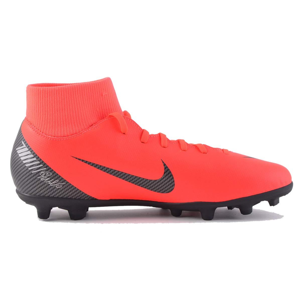 Nike Mercurial Superfly 6 Club CR7 MG Soccer Cleat (Bright Crimson) (Men's 7/Women's 8.5)