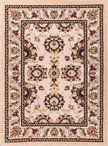 Well Woven Dulcet Alana Ivory Traditional Area Rug 2'7'' X 3'11'' - 1812 Rug