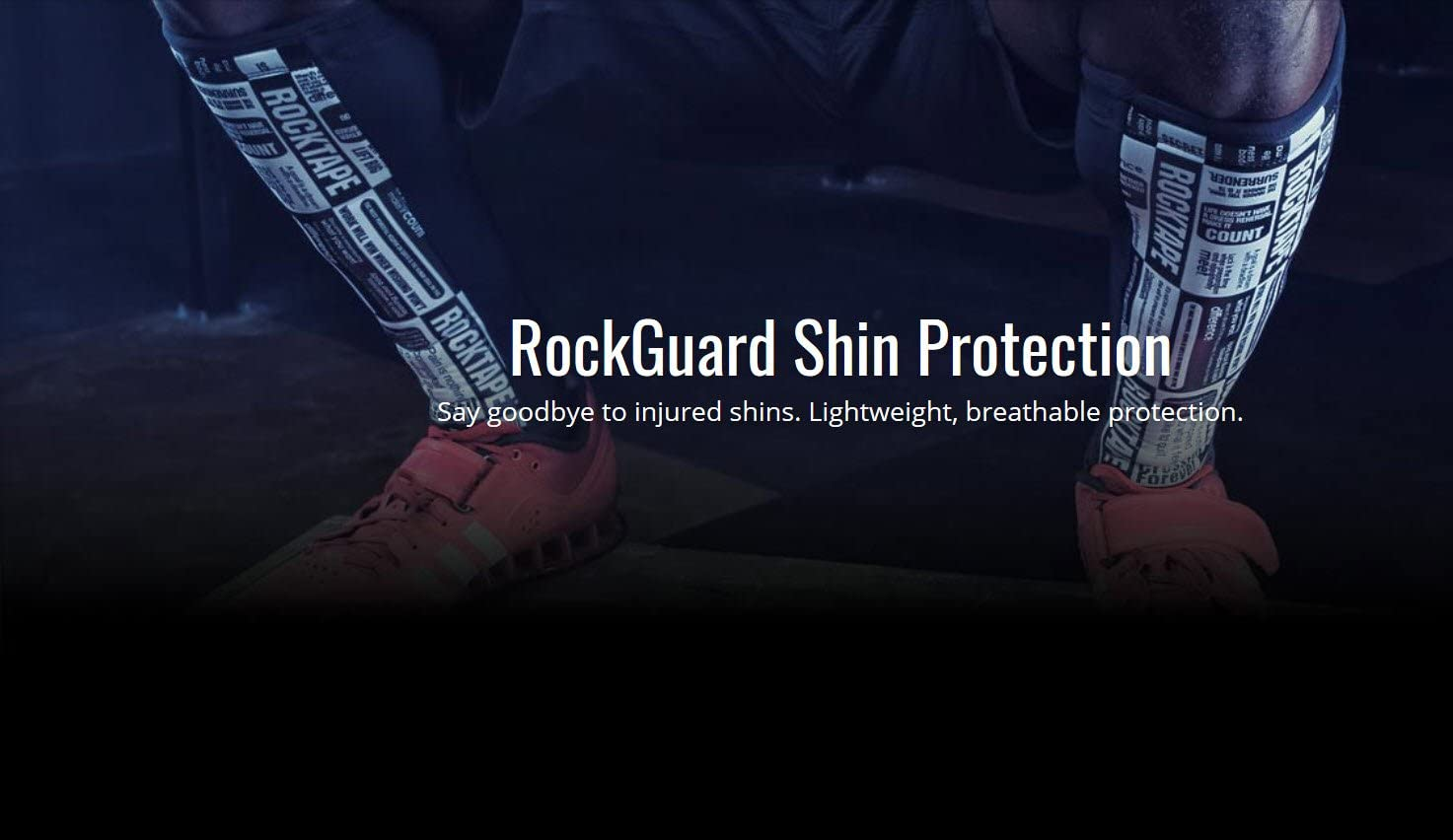 / Espinilleras RockTape Rock Guards/