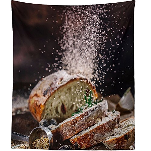 Westlake Art Wall Hanging Tapestry - Baguette Bakery - Photography Home Decor Living Room - 68x80in (x8z-15f-0c4) (Deco Baguette)