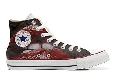 Converse All Star personalisierte Schuhe (Handwerk Produkt) The fighters