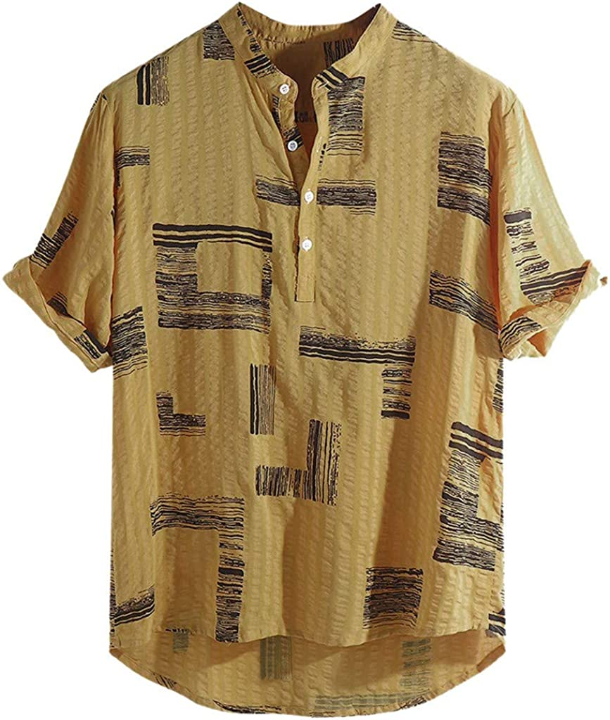 MOTOCO Camisa de Manga Corta de Hombre de Verano/Camisa Polo ...