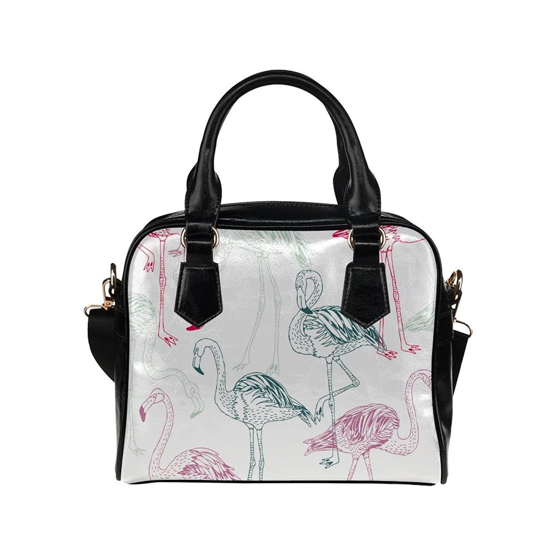 InterestPrint Birds Ostriches Pattern Women's Shoulder Handbag/Tote Bag/Travel Bag