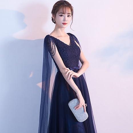 DYY Vestido de noche falda fiesta ambiente noble y elegante fiesta ...
