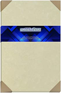 Amazon Com 50 Old Age Parchment 65lb Cover Weight Paper 11 X 17 Inches Cardstock Colored Sheets Tabloid Ledger Size Printable Old Parchment Look Office Products