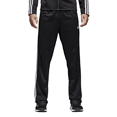 adidas Men's Athletics Essential Tricot 3 Stripe Tapered Pant: Clothing