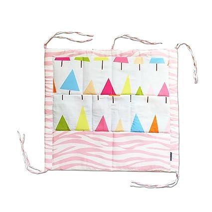 Bebé cuna colgante bolsa bolsa de almacenamiento cama guardería ...