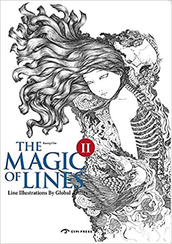 amazon the magic of lines ii line illustrations of global artists