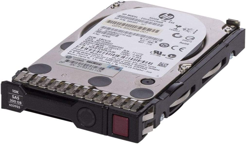 "HP 653955-001 300GB 10k RPM 2.5"" SAS-6GB/s hdd"