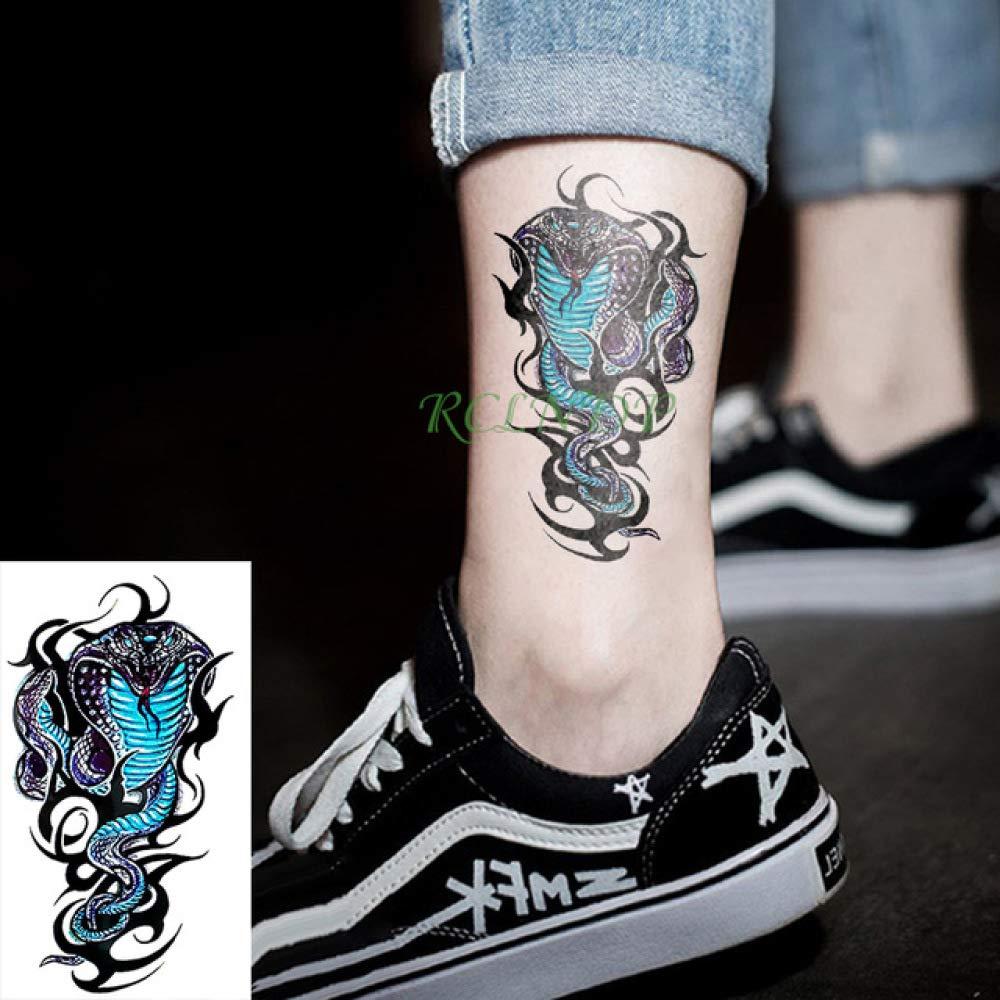 ljmljm 5 Piezas Impermeable Tatuaje Pegatina Scorpion Halloween ...