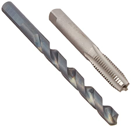 """5//16/""""-18 TAP AND DRILL BIT COMBO"""