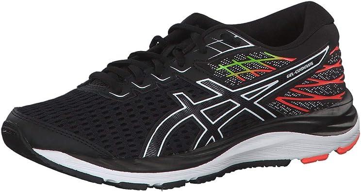 Asics Gel-Cumulus 21 GS 1014a069-001, Zapatillas de Running Unisex Niños, Multicolor Black White 001, 35.5 EU: Amazon.es: Zapatos y complementos