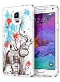 Galaxy Note 4 Case Ultra Slim Fit Creative Drawing