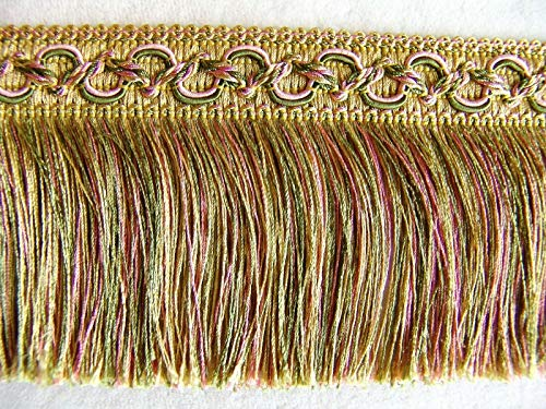 (Pink/Green/Gold by The Yard ~ Beautiful 3 1/2
