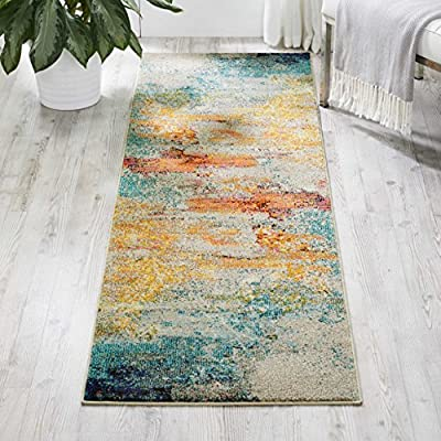 Nourison Celestial Area Rug -  - runner-rugs, entryway-furniture-decor, entryway-laundry-room - 61Qp1qwbG4L. SS400  -