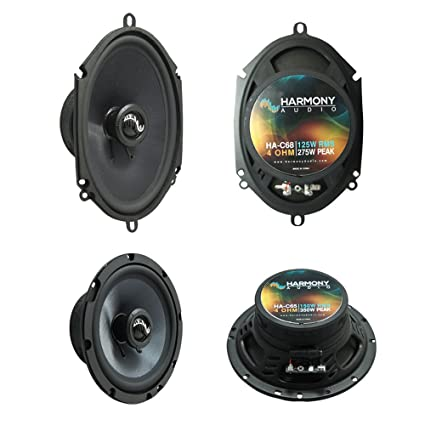 Fits Ford Bronco (Full Size) 1973-1984 Premium Speaker Upgrade Harmony C65 C68