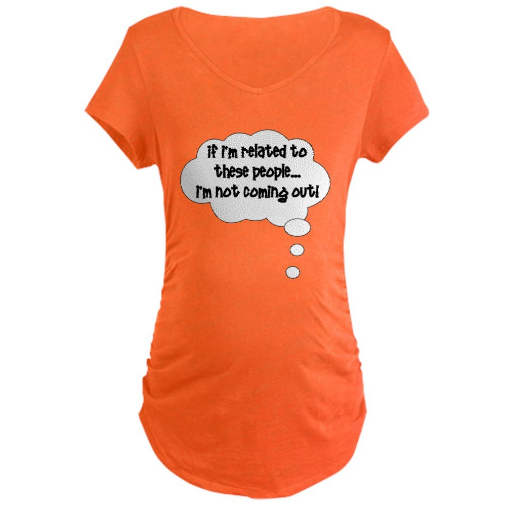 Design your own t-shirt cafepress - Amazon Com Cafepress Related Not Coming Out Cotton Maternity T Shirt Cute Funny Pregnancy Tee Clothing