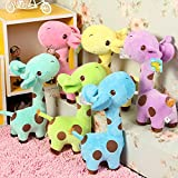 Babique Stuffed Soft Plush Love Giraffe Toy for Kids, 25 cm (Any One Colour)
