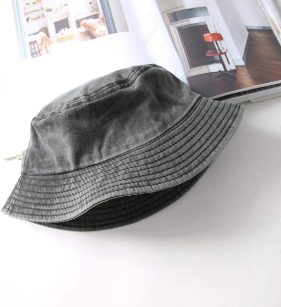 AWP Denim Bucket Hat Uomini Donne Pesca Outdoor Beach Fisherman Cappello Blu