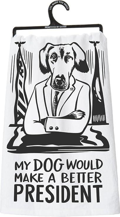 Primitives By Kathy Lol Dish Towel 28 X 28 Dog Home Kitchen