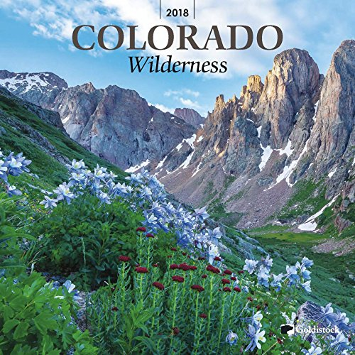 "Goldistock ""Colorado Wilderness"" Eco-friendly 2018 Large Wall Calendar- 12"" x 24"" )Open) - Thick & Sturdy Paper - Breathtaking Images"
