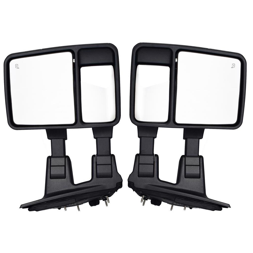 61Qp4YKf32L._SL1024_ amazon com dedc ford f250 tow mirrors fit for 99 15 ford f250  at crackthecode.co