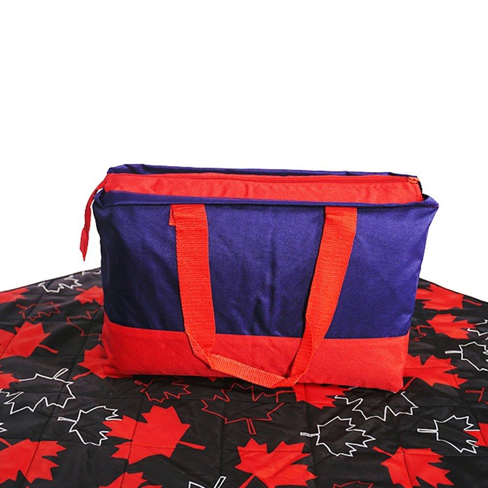 Tappetino da Picnic All'aperto Addensare Tessuti di taffettà Pieghevole Panno di Terra Coperta da Viaggio Impermeabile 150  200 cm (colore   Style2)