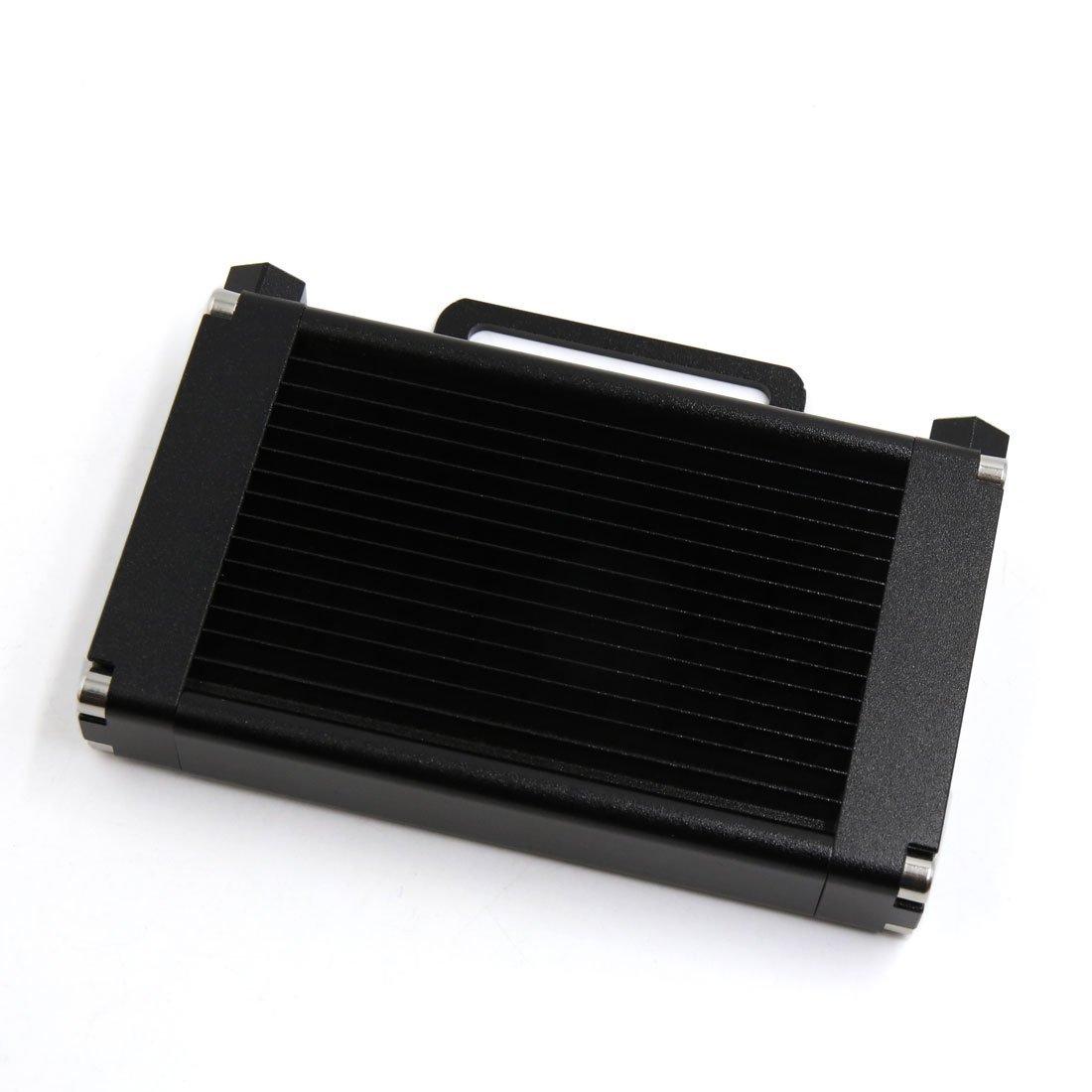 Amazon.com: eDealMax Negro aleación de aluminio DE 14 filas DE 9 mm Hilo Sujetar Dia de la motocicleta del Motor del refrigerador de aceite del radiador: ...