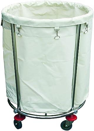 Ruedas para la ropa sucia la ropa sucia cesta carrito de transporte de lavandería